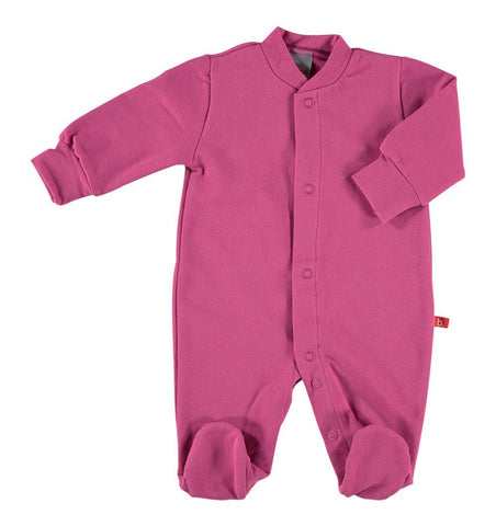 Buy the Sleepsuit in Deep Pink by LIMOBASICS from Me and Buddy