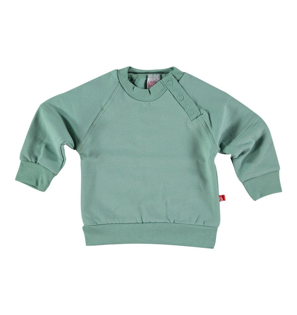 Buy the Sweatshirt in Moss Green by LIMOBASICS from Me and Buddy