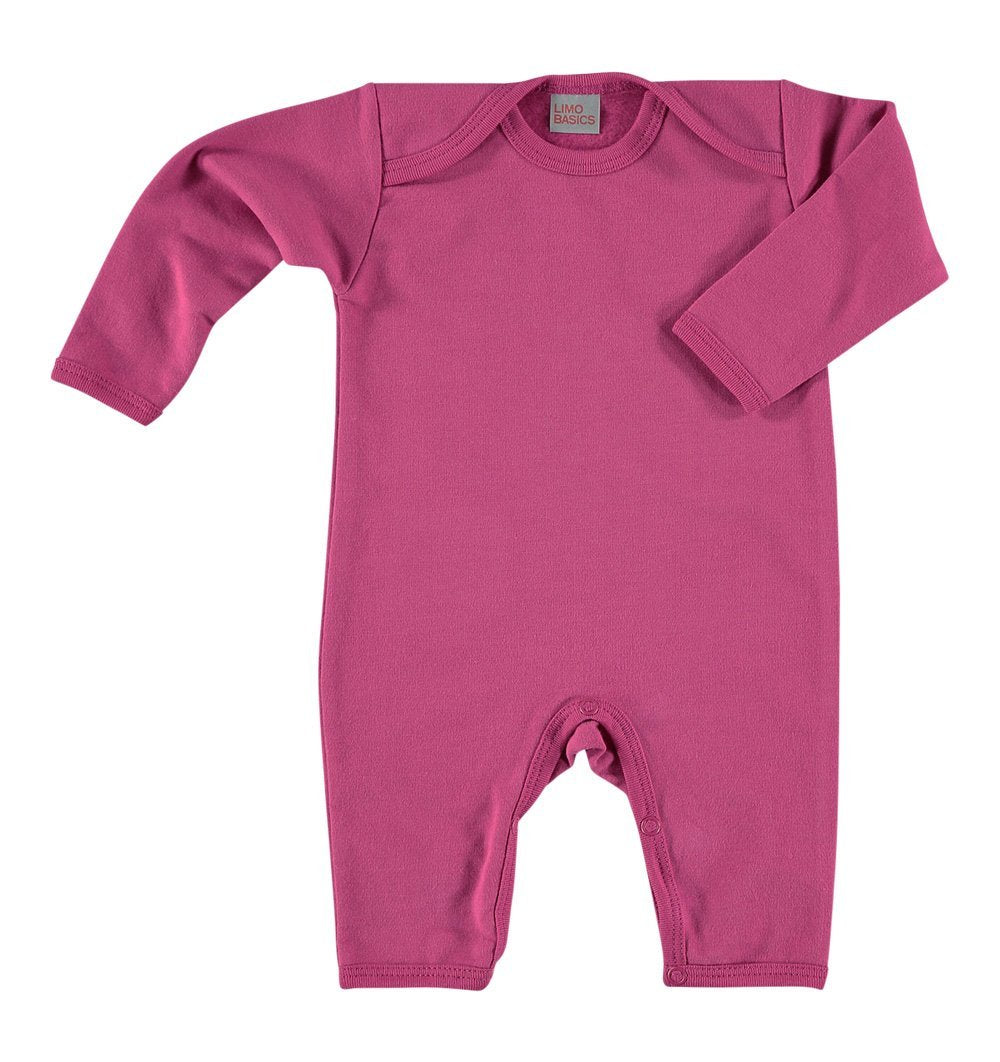 Buy the Romper with Back Pocket in Deep Pink by LIMOBASICS from Me and Buddy