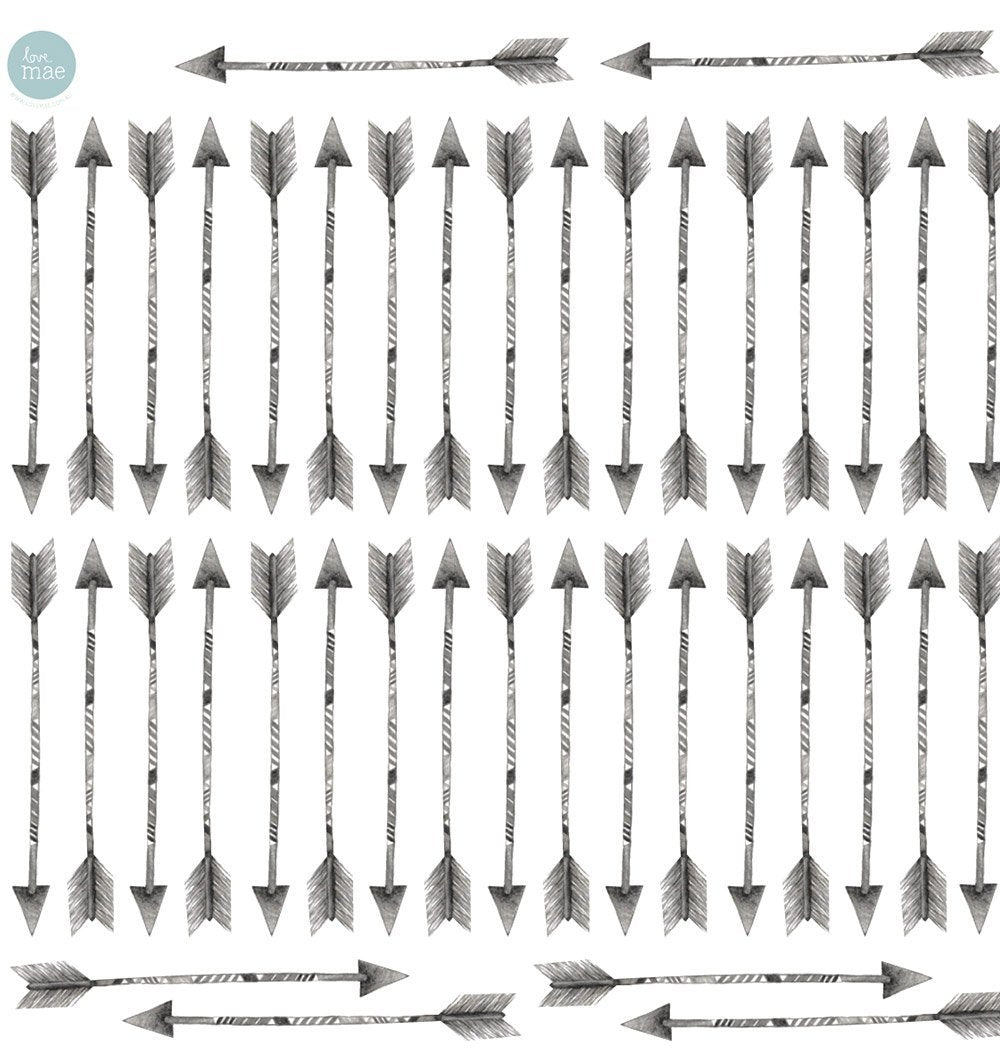 Buy the Arrows Fabric Wall Sticker Set by LOVE MAE from Me and Buddy