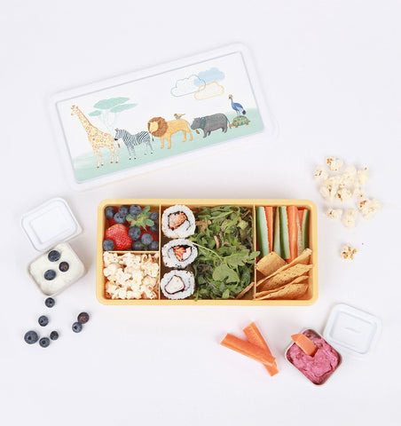 Buy the Love Mae Lunch Box - On Safari by LOVE MAE from Me and Buddy