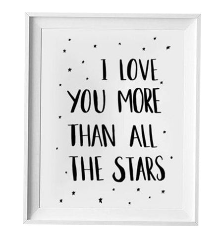 Buy the All the Stars Print by LOVELY INK from Me and Buddy