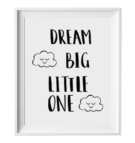 Buy the Dream Big Little One Print by LOVELY INK from Me and Buddy