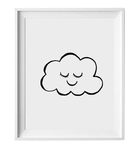 Buy the Sleepy Cloud Print by LOVELY INK from Me and Buddy