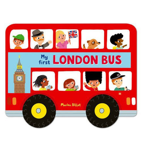 Buy the My First London Bus by Marion Billet by MACMILLAN from Me and Buddy