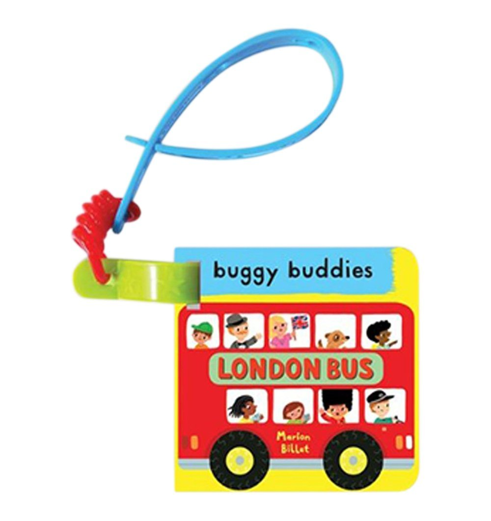 Buy the London Bus Buggy Buddy Board Book by MACMILLAN from Me and Buddy