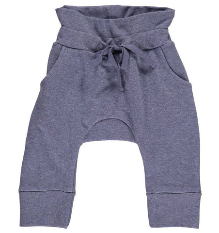 Buy the Sweatpants in Blue Melange by MARMAR COPENHAGEN from Me and Buddy
