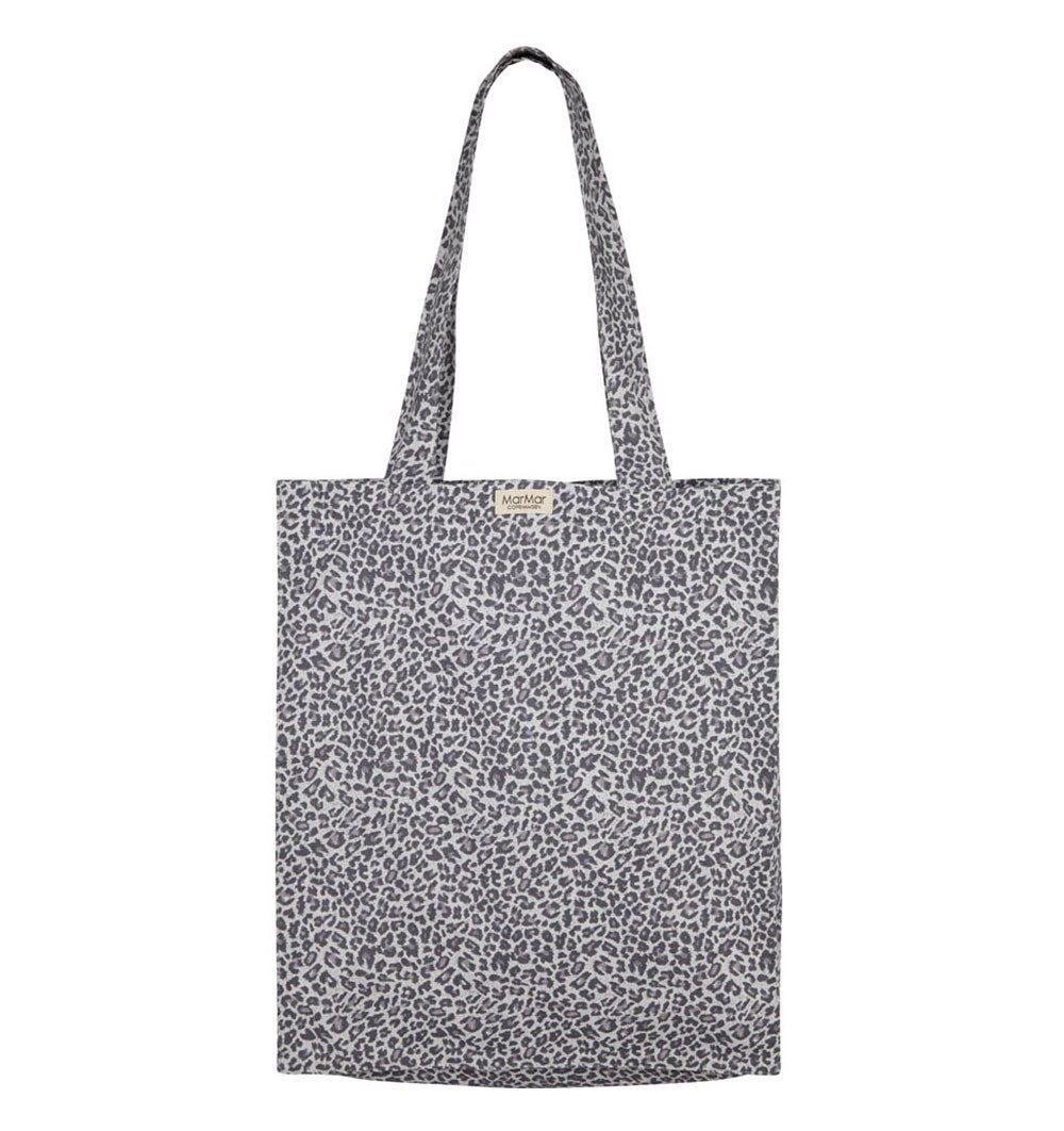 Buy the Leo Shopper Bag in Light Leopard Print by MARMAR COPENHAGEN from Me and Buddy