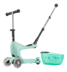 Buy the Micro Scooters Mini 2 Go Deluxe in Mint by MICRO SCOOTERS from Me and Buddy