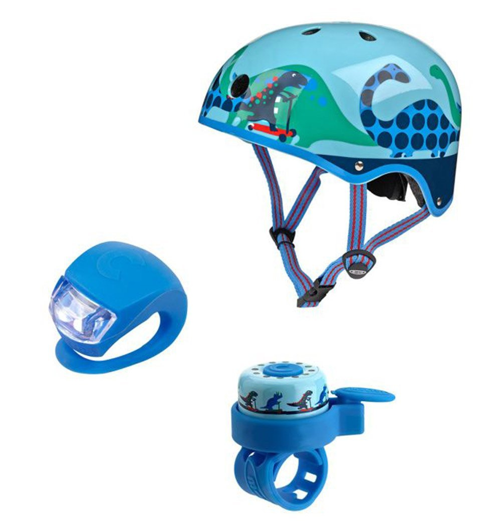 Buy the Mini Micro Helmet Set in Scootersaurus by MICRO SCOOTERS from Me and Buddy