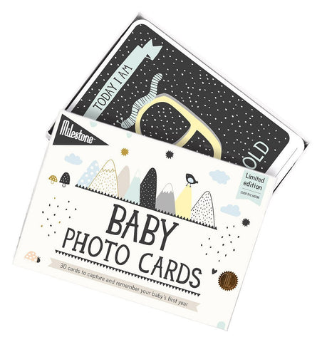 Buy the Milestone Baby Cards Over the Moon by MILESTONE from Me and Buddy