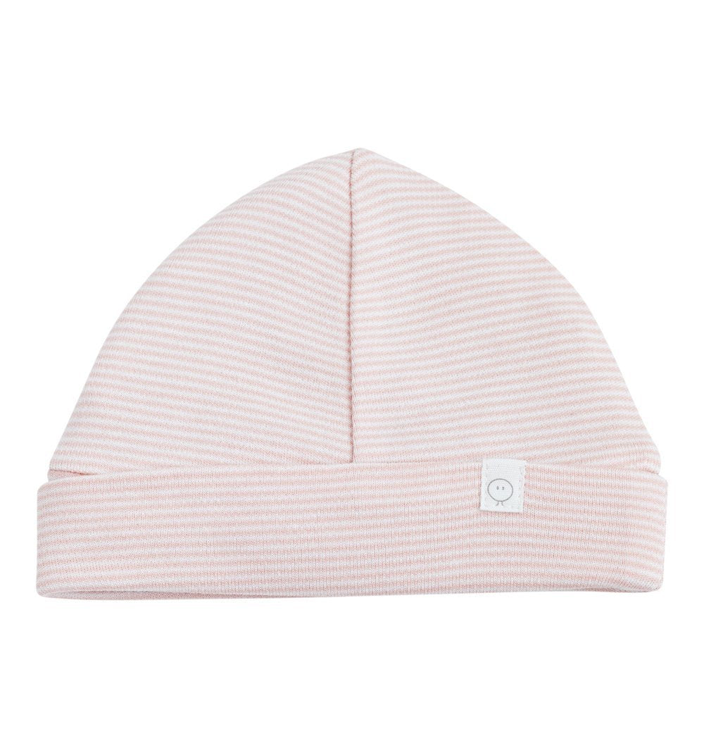Buy the Mori Baby Hat in Blush Stripe by MORI from Me and Buddy
