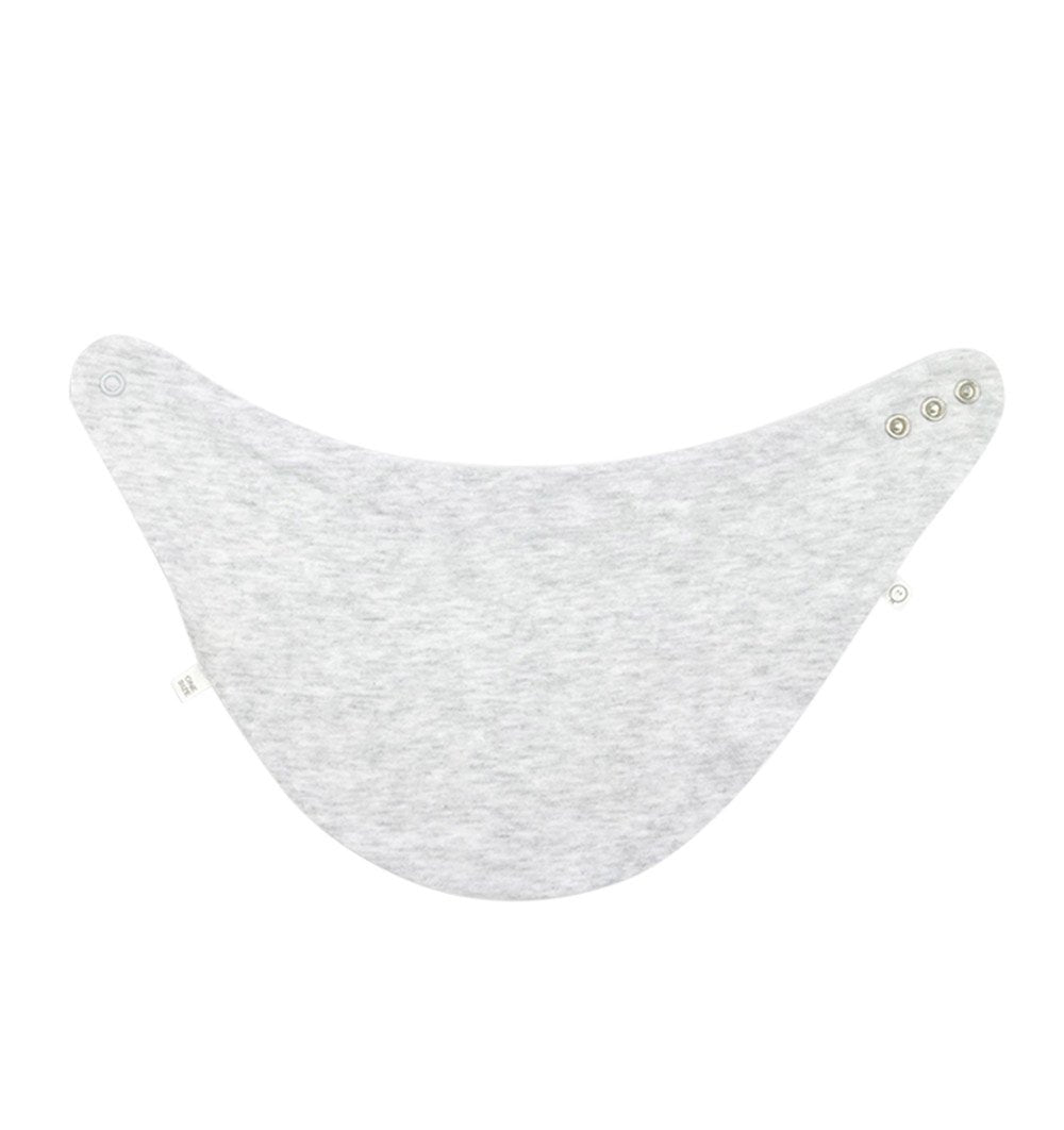 Buy the Mori Milk Bib in Grey by MORI from Me and Buddy