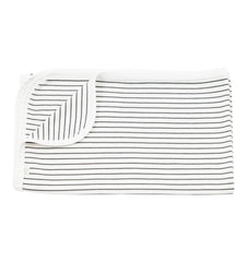 Buy the Mori Baby Blanket in Grey Stripe by MORI from Me and Buddy