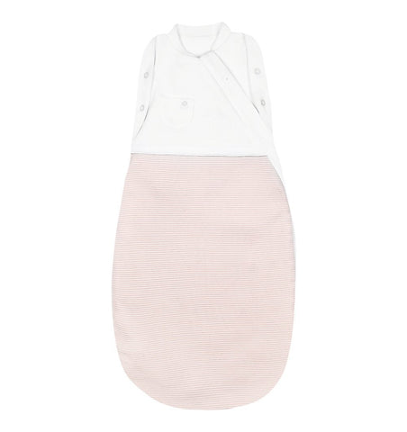 Buy the Mori Swaddle Bag in Blush Stripe by MORI from Me and Buddy
