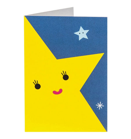 Buy the Noodoll Star Greetings Card by NOODOLL from Me and Buddy
