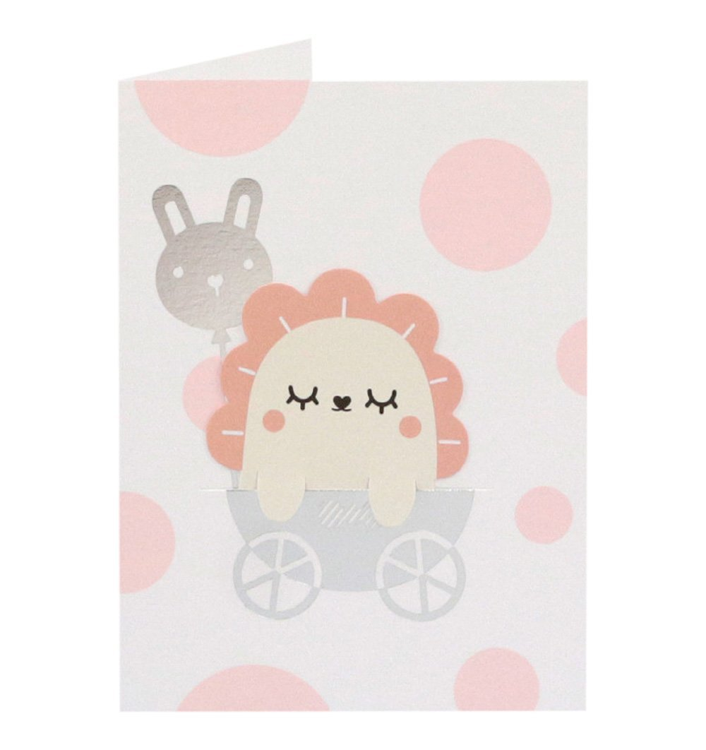 Buy the Noodoll New Baby Pink Bookmark Card by NOODOLL from Me and Buddy