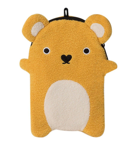 Buy the Noodoll Ricecracker Bear Zip Case by NOODOLL from Me and Buddy