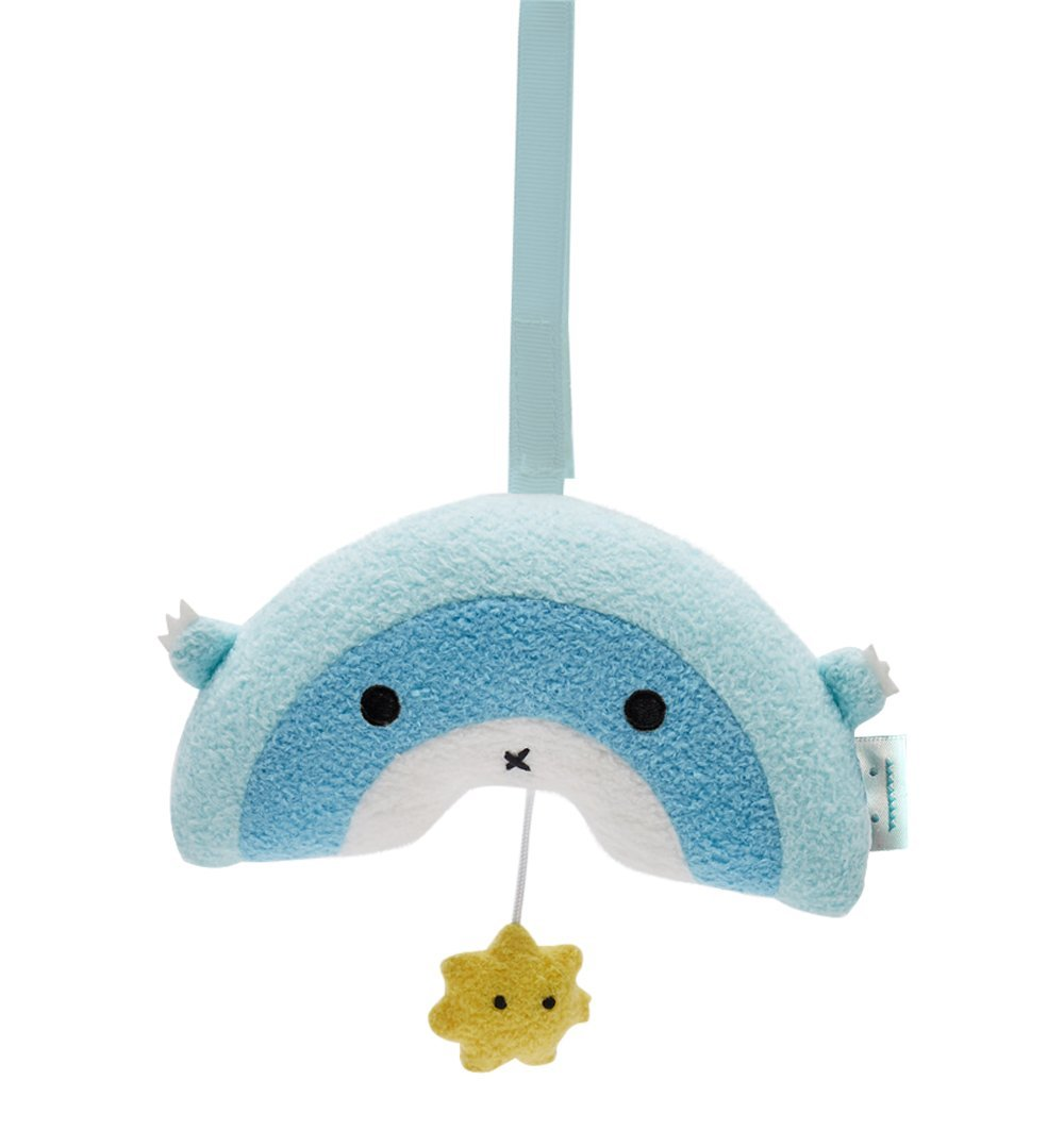 Buy the Noodoll Ricerain Blue Rainbow Soft Musical Mobile by NOODOLL from Me and Buddy