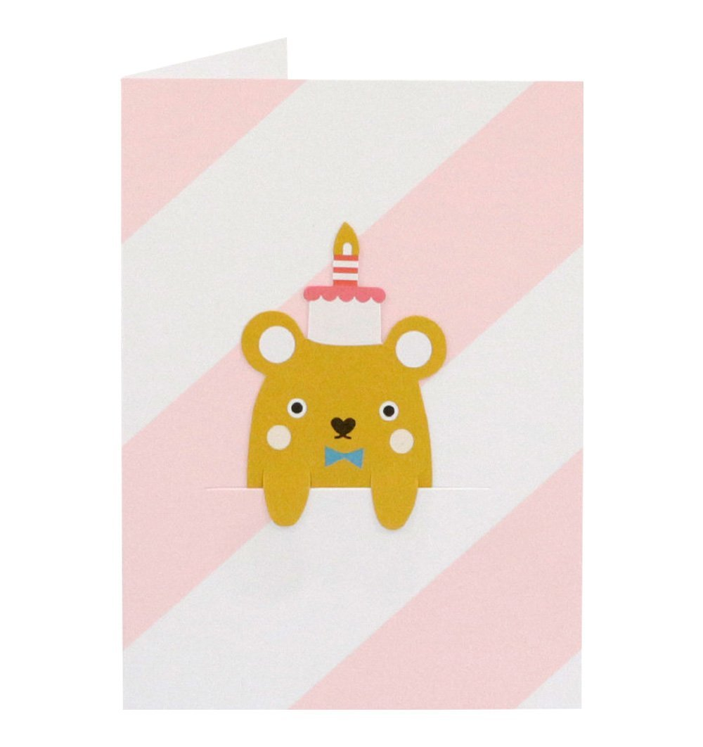 Buy the Noodoll Ricecracker Cake Bookmark Card by NOODOLL from Me and Buddy