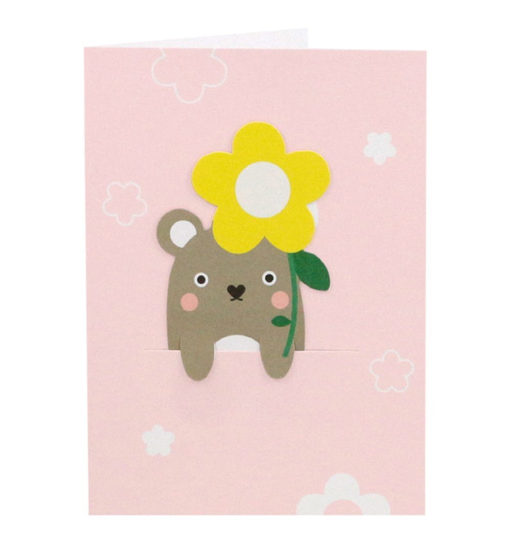 Buy the Noodoll Riceolive Flower Bookmark Card by NOODOLL from Me and Buddy