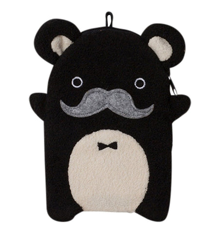 Buy the Noodoll Ricepapa Luxe Bear Zip Case by NOODOLL from Me and Buddy
