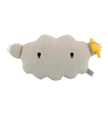 Buy the Noodoll Ricestorm Soft Cloud Toy in Grey by NOODOLL from Me and Buddy