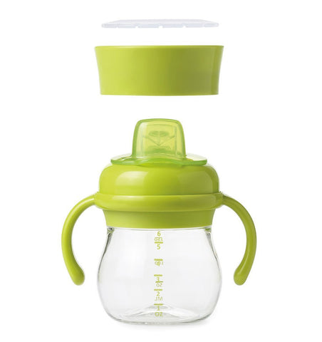 Buy the OXO Tot Soft Spout Sippy Cup Set in Green by OXO TOT from Me and Buddy