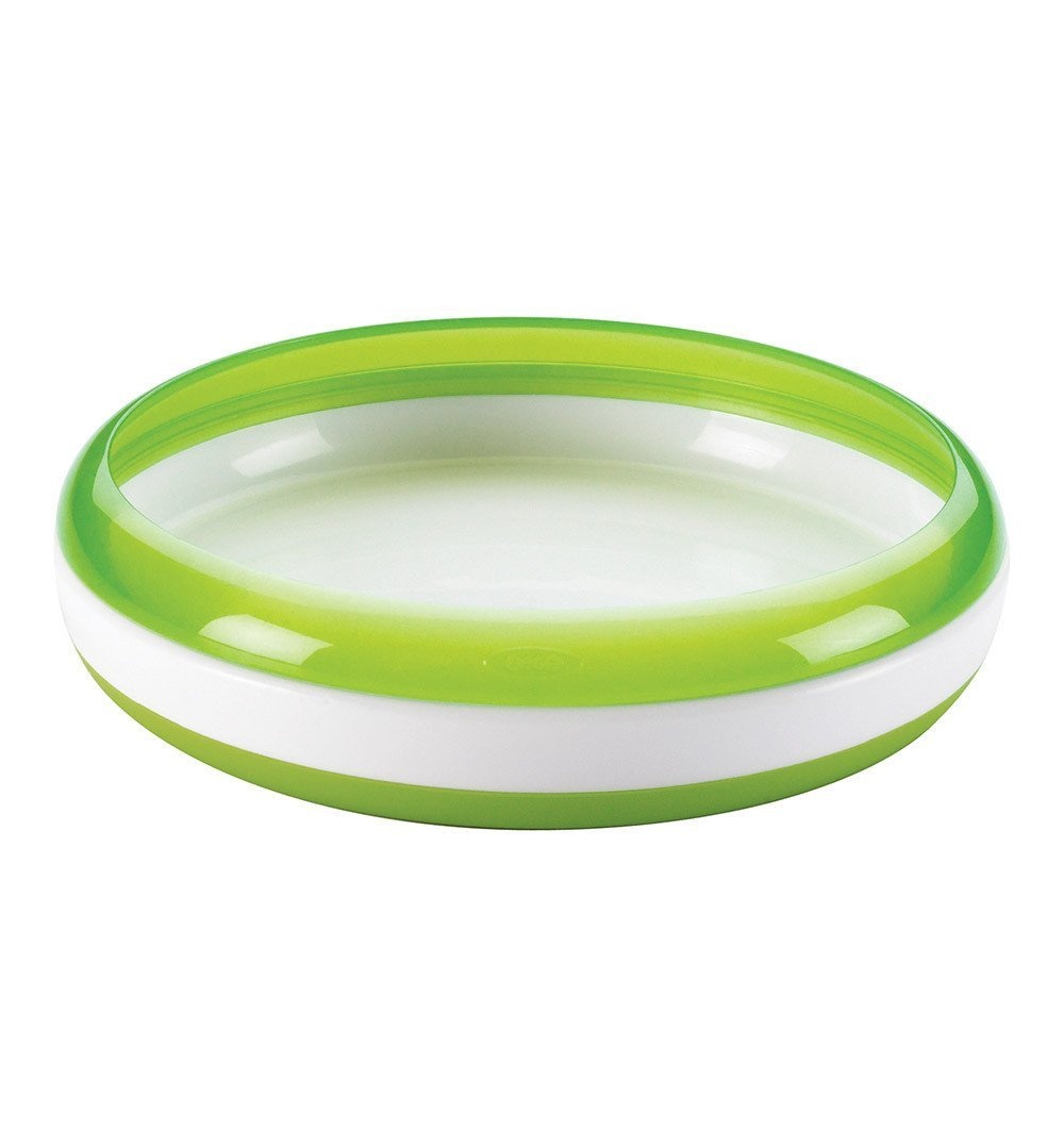 Buy the OXO Tot Training Plate in Green by OXO TOT from Me and Buddy