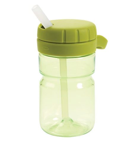 Buy the OXO Tot Twist Top Water Bottle in Green by OXO TOT from Me and Buddy