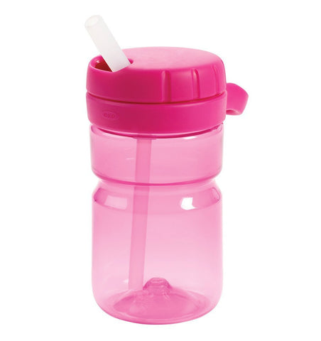 Buy the OXO Tot Twist Top Water Bottle in Raspberry by OXO TOT from Me and Buddy