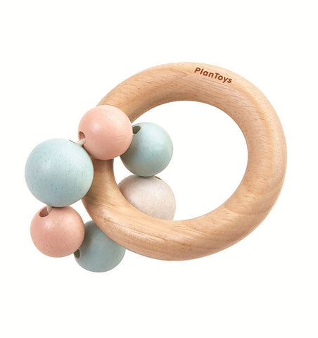 Buy the Plan Toys Beads Rattle in Pastel by PLAN TOYS from Me and Buddy
