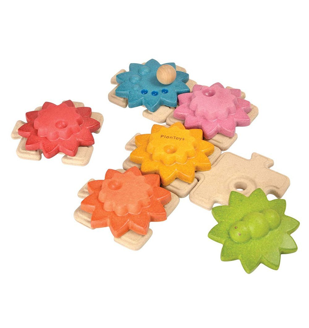 Buy the Plan Toys Gears & Puzzles by PLAN TOYS from Me and Buddy