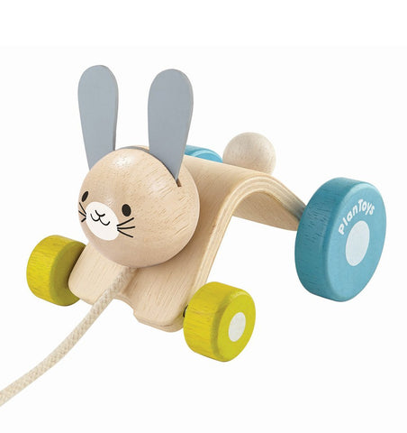 Buy the Plan Toys Hopping Rabbit by PLAN TOYS from Me and Buddy