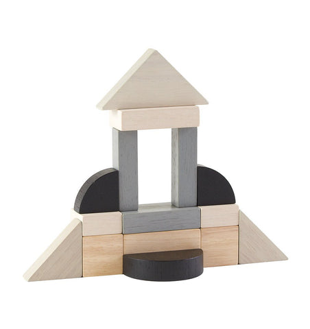 Buy the Plan Toys Monochrome Fraction Blocks by PLAN TOYS from Me and Buddy