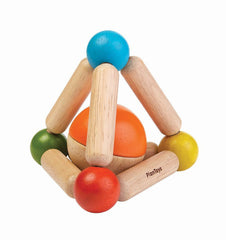 Buy the Plan Toys Triangle Clutching Toy in Brights by PLAN TOYS from Me and Buddy