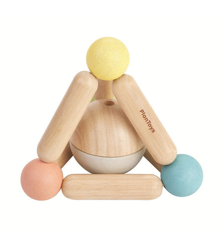 Buy the Plan Toys Triangle Clutching Toy in Pastels by PLAN TOYS from Me and Buddy