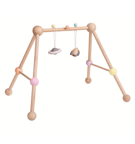 Buy the Plan Toys Wooden Play Gym by PLAN TOYS from Me and Buddy