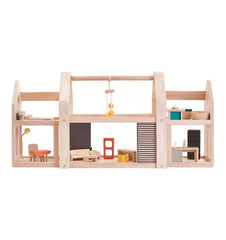 Buy the Plan Toys Slide 'n' Go Doll's House by PLAN TOYS from Me and Buddy