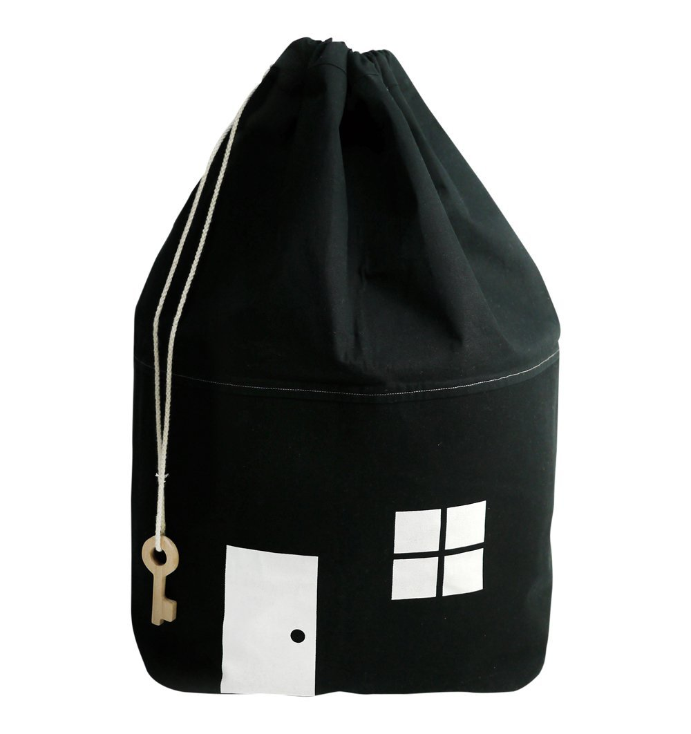 Buy the Rock and Pebble Black House Storage Bag with Key by ROCK AND PEBBLE from Me and Buddy