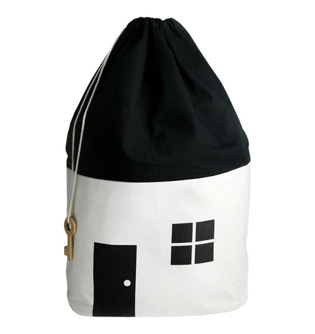 Buy the Rock and Pebble White House Storage Bag with Key by ROCK AND PEBBLE from Me and Buddy