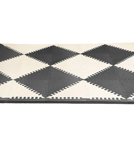 Buy the Skip Hop Foam Play Mat Tiles in Black & Cream by SKIP HOP from Me and Buddy