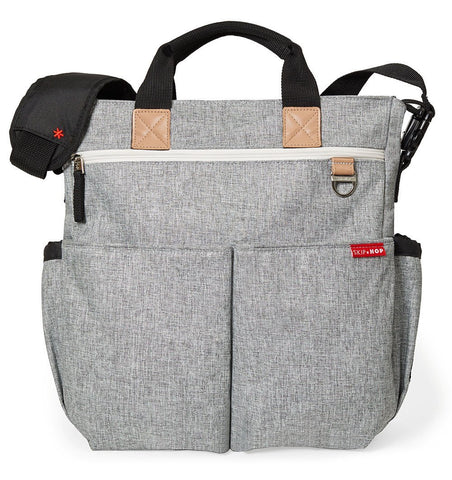 Buy the Skip Hop Duo Changing Bag in Grey Melange by SKIP HOP from Me and Buddy
