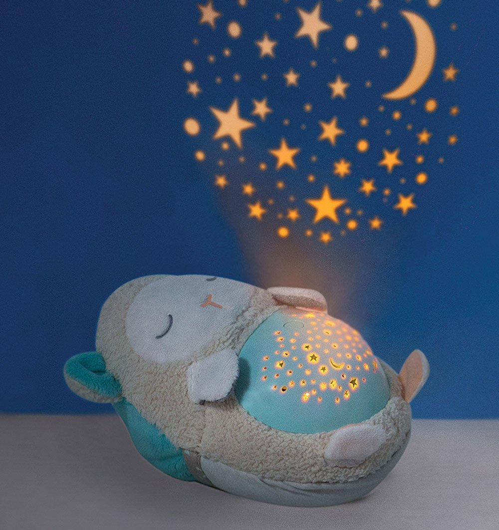 Buy the Skip Hop Soft Lamb Soother Projector Nightlight by SKIP HOP from Me and Buddy