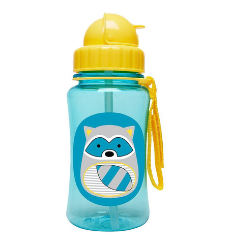 Buy the Skip Hop Zoo Straw Bottle Raccoon by SKIP HOP from Me and Buddy