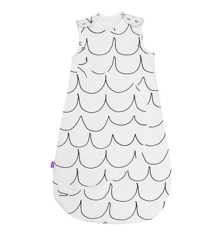 Buy the Snüz SnuzPouch Baby Sleeping Bag 2.5 Tog in Wave Mono by SNUZ from Me and Buddy