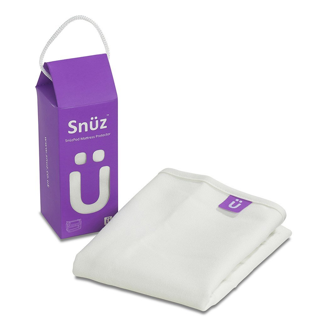 Buy the SnüzPod Waterproof Crib Mattress Protector by SNUZ from Me and Buddy