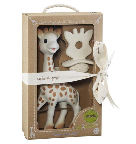 Buy the Sophie the Giraffe So Pure Natural Teether Set by SOPHIE LA GIRAFE from Me and Buddy