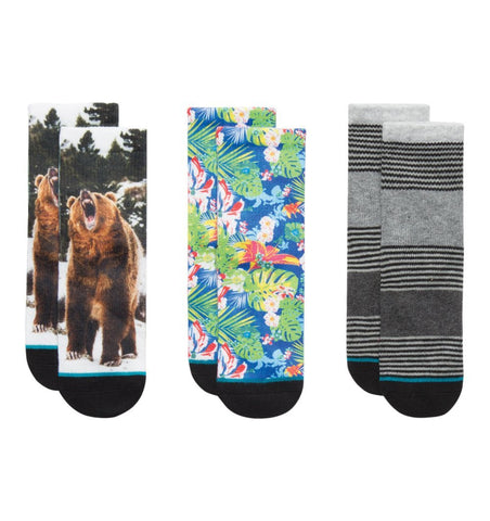 Buy the Stance Socks Trail Mix Toddler Box Set by STANCE SOCKS from Me and Buddy