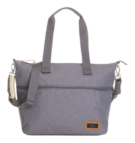 Buy the Storksak Expandable Tote Changing Bag in Grey by STORKSAK from Me and Buddy
